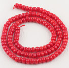 3*5mm算珠形红珊瑚