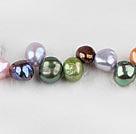 7-8mm混色染色偏孔珍珠