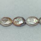 蛋形纽扣珍珠
