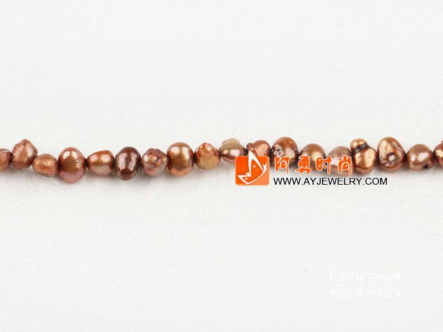 3-4mm棕色染色土豆珍珠